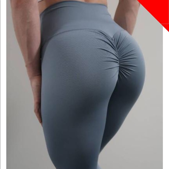 7bd0392905629 Pants | Abs2b Fitness Scrunch Pocket Legging | Poshmark